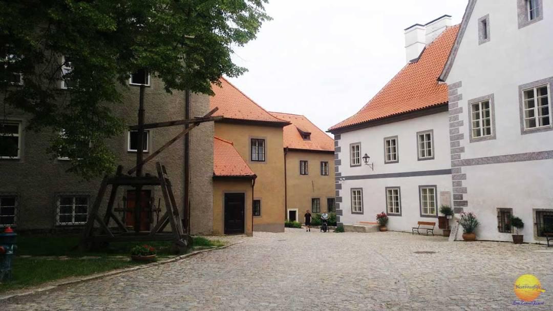 Klastery Cesky Krumlov square