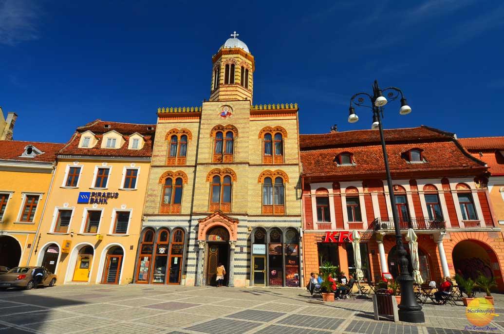 town square brasov