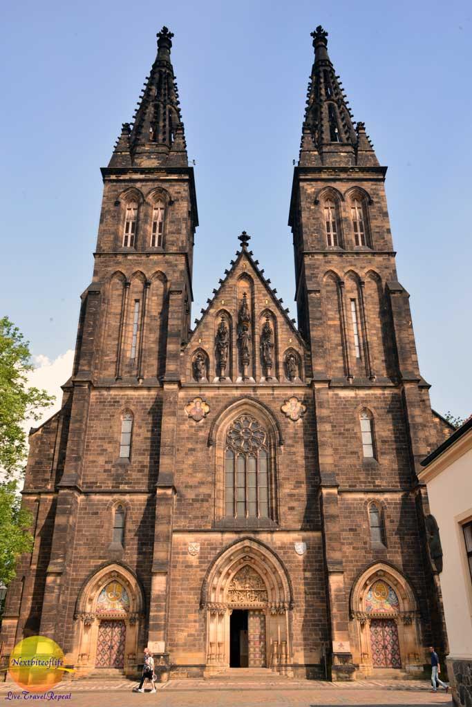 vysehrad church prague