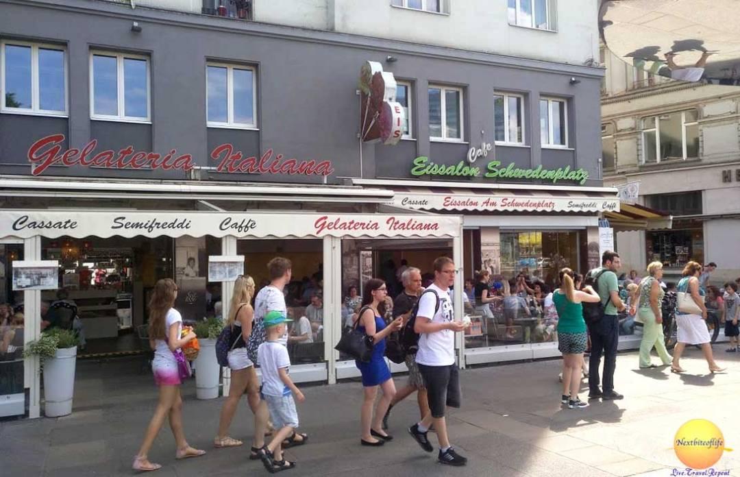 eissalon schwedenpatz ice cream vienna