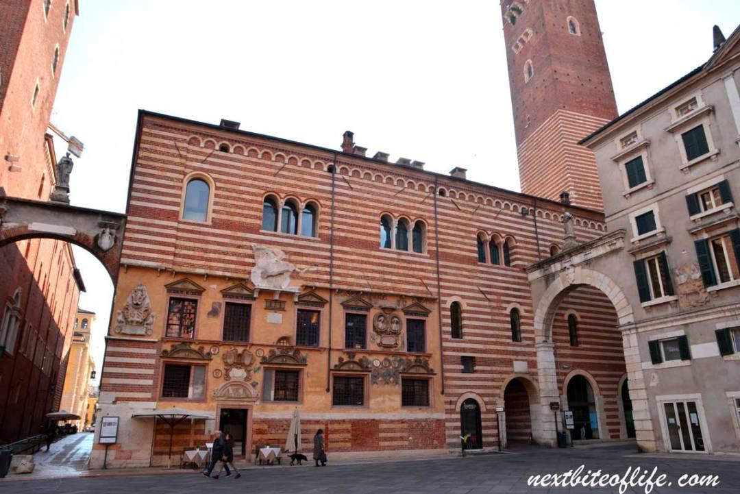 piazza de signori Verona Italy