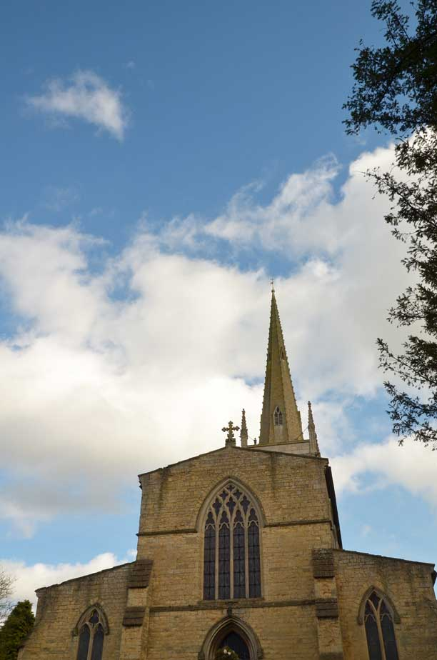 church in Leicestershire England