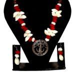 NextBuye Maa Durga Custom Jewelry with Kori Set [Red] 2
