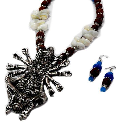 NextBuye Maa Durga Oxidized Handcrafted Jewelry 1