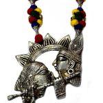 NexBuye Radha Krishna Handmade Custom Jewellery Set 3
