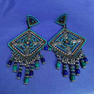 NextBuye Rajasthani Ethnic Earrings 2
