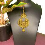 NextBuye Gold Plated Traditional Design Maang Tikka