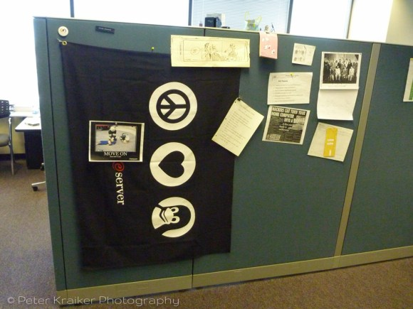 My old cubicle
