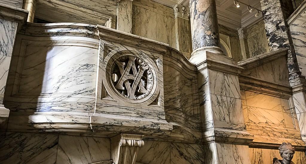 V&A archway