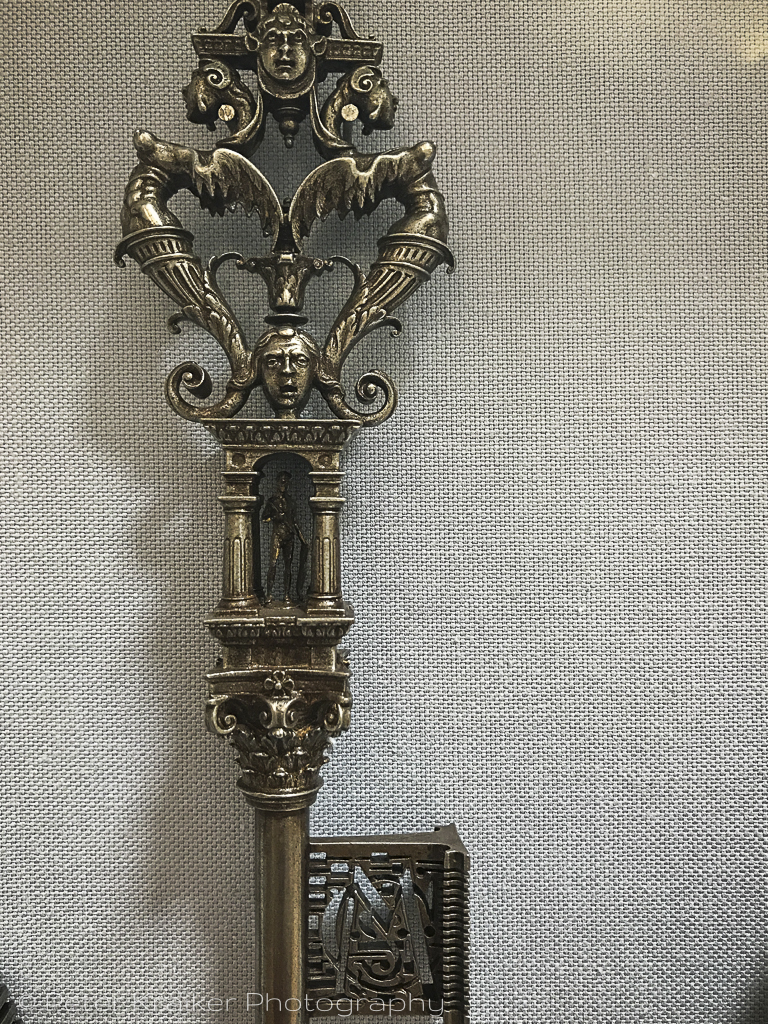 Ornate key