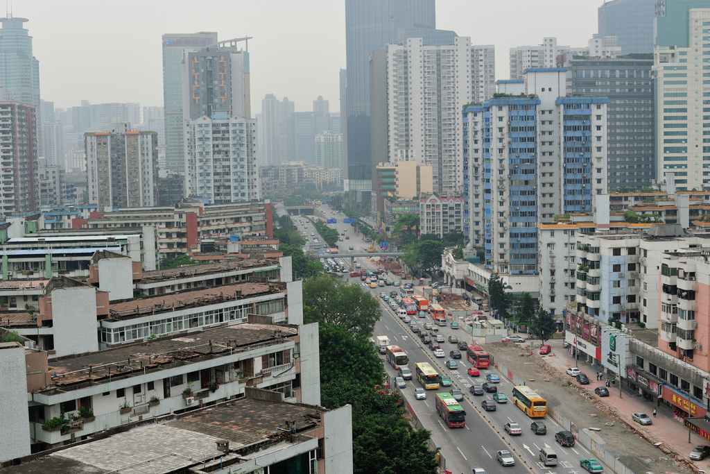 To Prevent Carmageddon and a Smogcalypse Guangzhou Hits