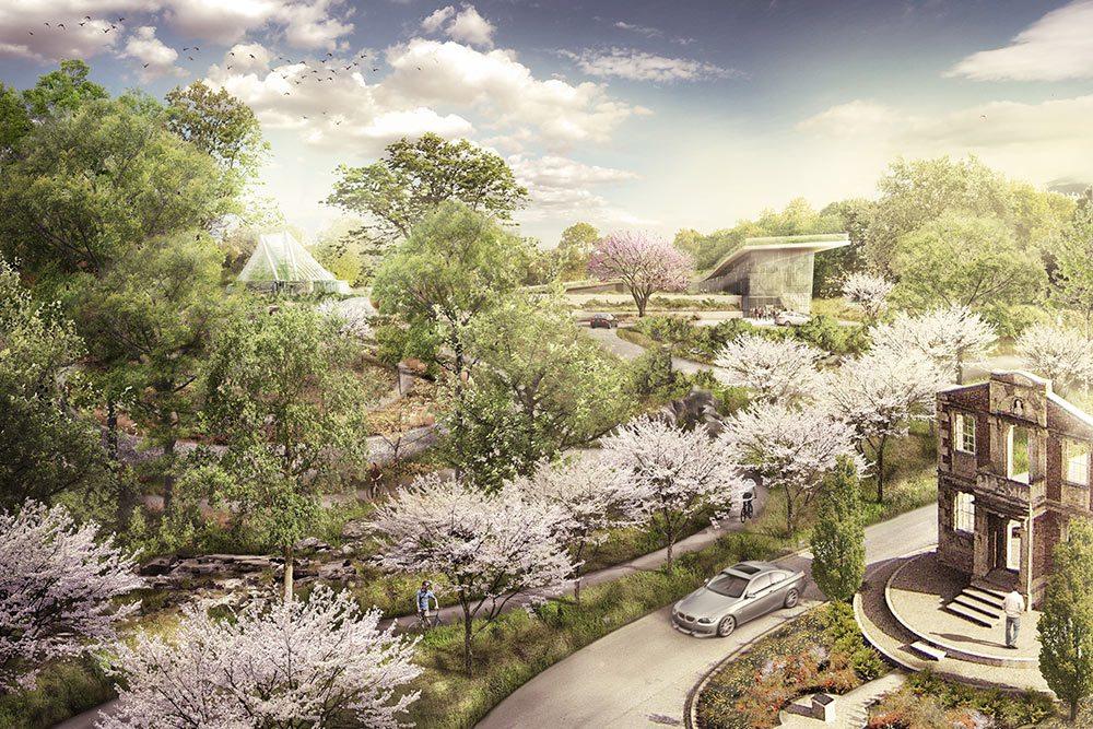 Louisville OKs 1 Land Deal for MultimillionDollar Botanical Garden  Next City