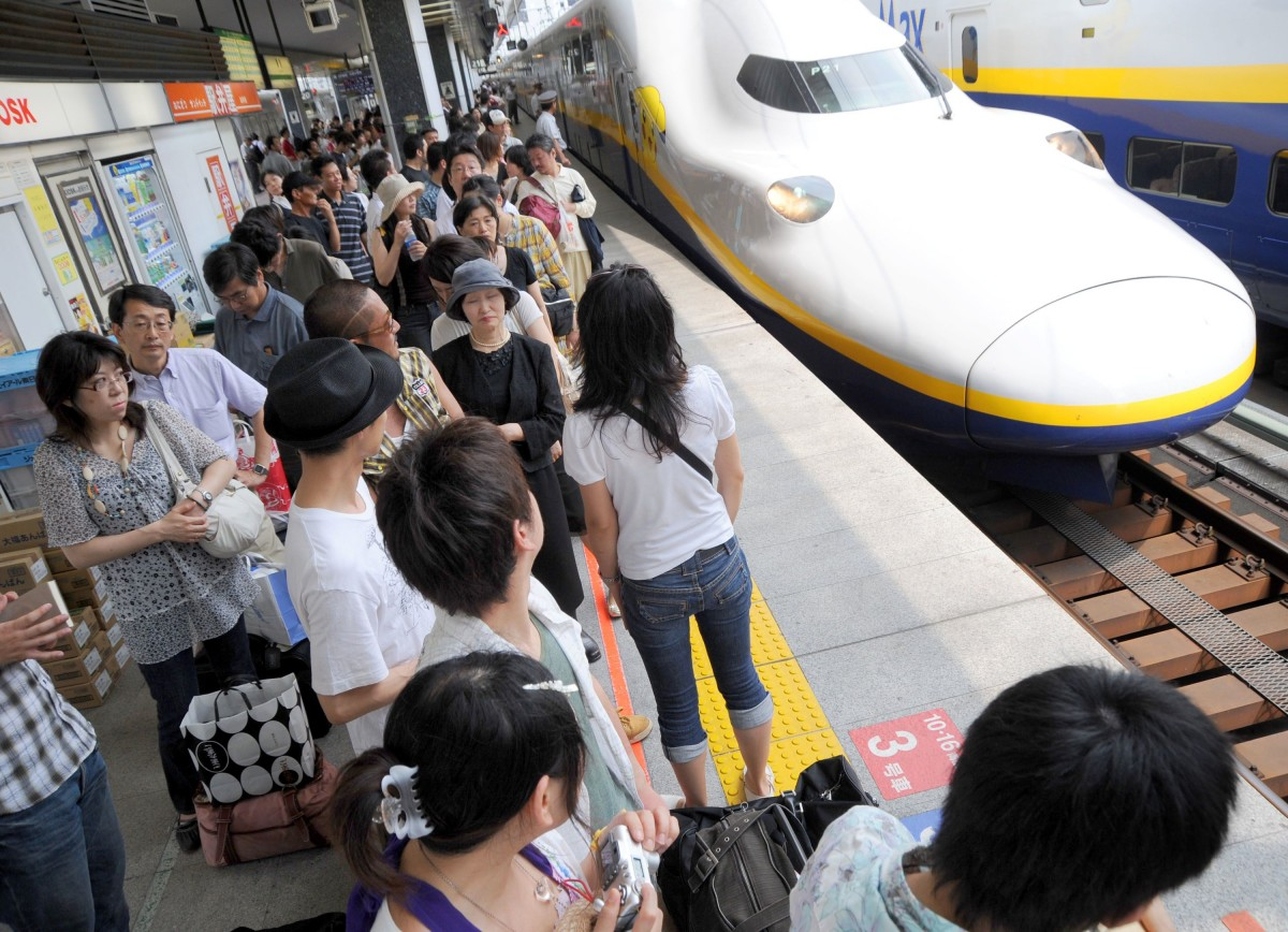 Japan S Bullet Train The World S First And Still Best High Speed Rail Network Turns 50