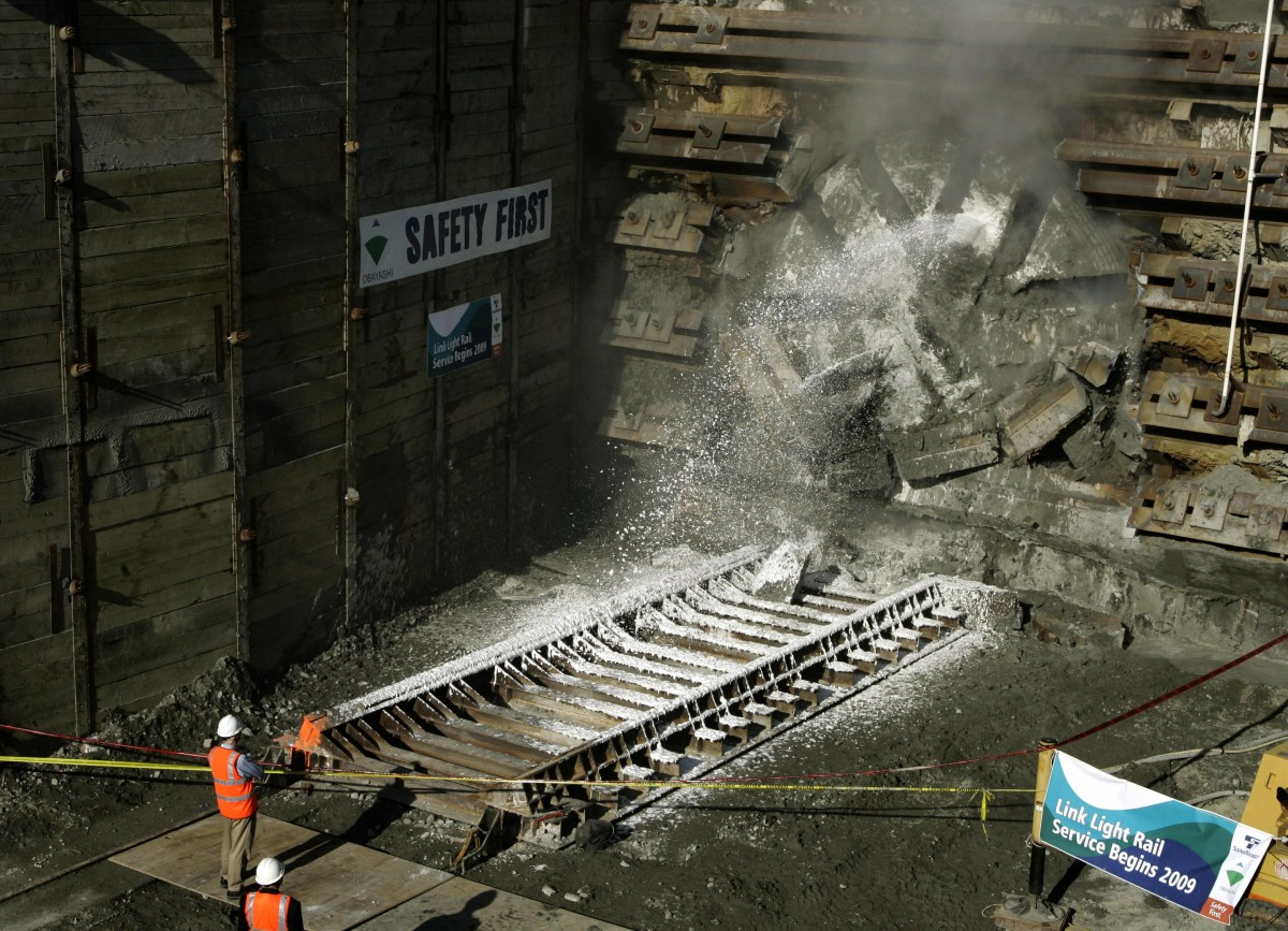 Seattle Hits Another Milestone on LightRail Tunnel Project  Next City