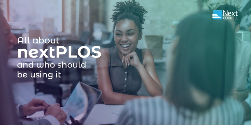 All about nextPLOS and who should be using it.