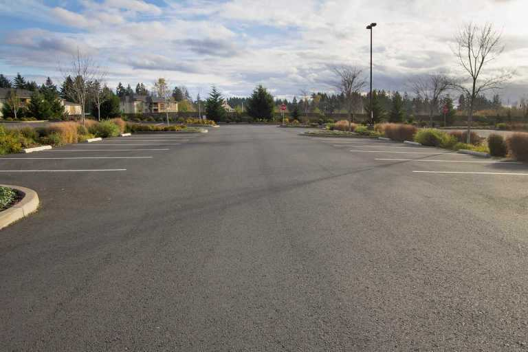 Commercial Parking Lot Inspection