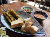 Pork Satay skewers @ Ros'niyom