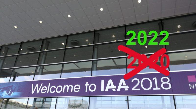 IAA 2020 Nutzfahrzeuge – ABSAGE