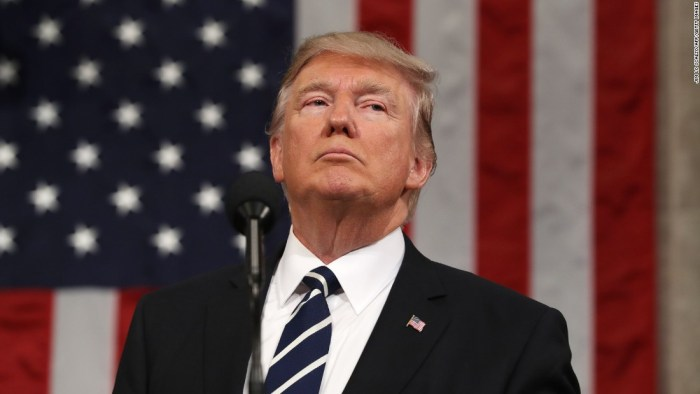 Trump renews threat to scrap trade agreement