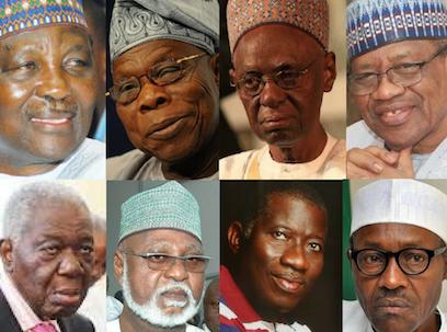 2019: Power brokers against Buhari