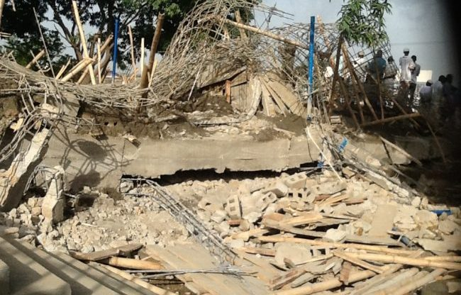 Building collapse claims 3 in Zaria, 7 others injured