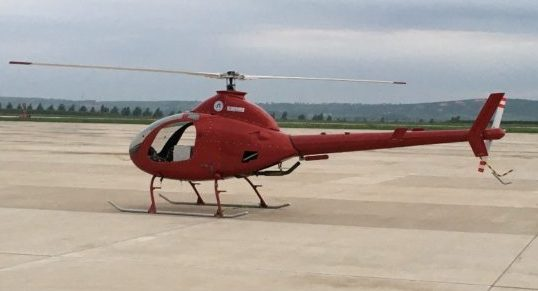 China's unmanned helicopter ready