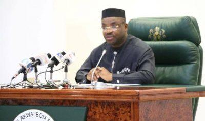 A'Ibom:  Emmanuel sacks two commissioners