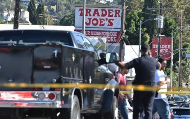 Foreign Titbits:  Woman killed inside Trader Joe's during standoff, Los Angeles mayor says
