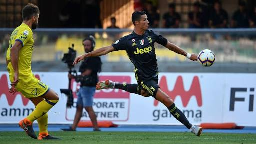 BREAKING:  Ronaldo fails to score in second game for Juventus