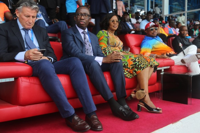 PHOTOS OF THE DAY:  Faces at the opening ceremony of African Senior Athletics Championship in Delta