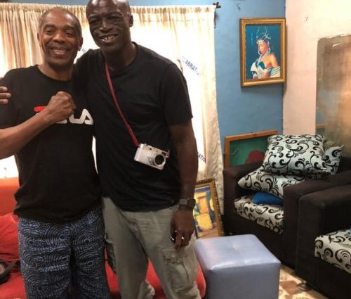 PHOTOS OF THE DAY:  Seal visits Afrika Shrine