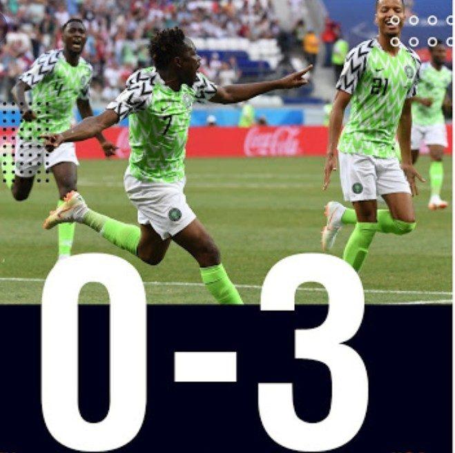 Super Eagles defeat Seychelles 3 – 0