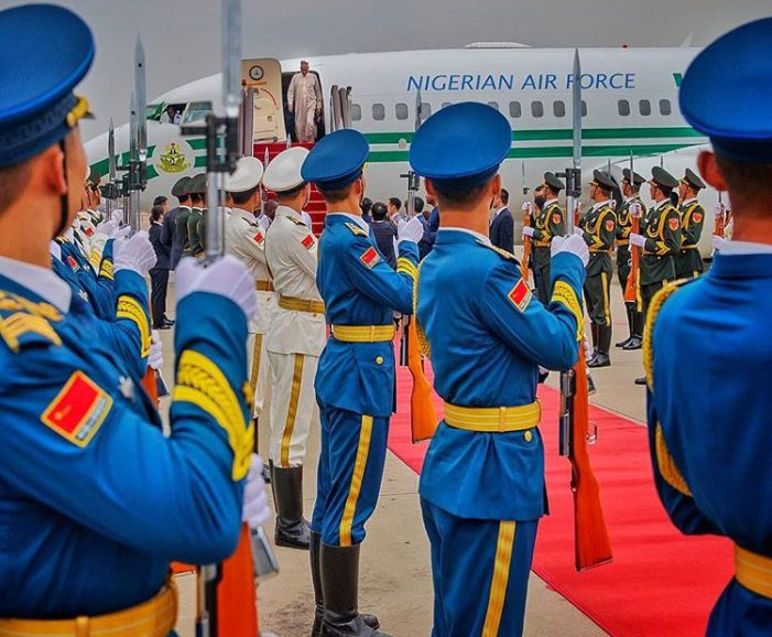 PHOTOS OF THE DAY: Buhari in China for FOCAC