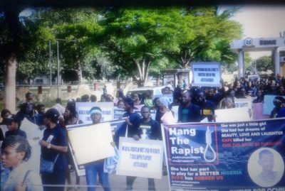 Benue CSOs March, Demand Justice For 13-year-old Ochanya