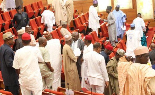 Senate in a rowdy session over Akpabio