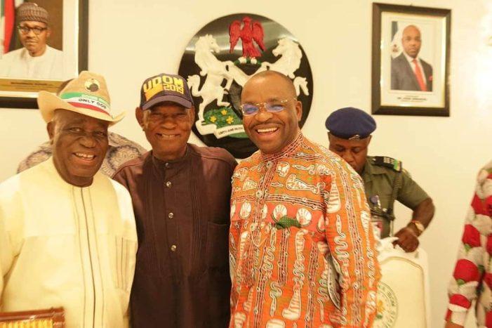 2019: Gov. Emmanuel names Ekpo his running mate