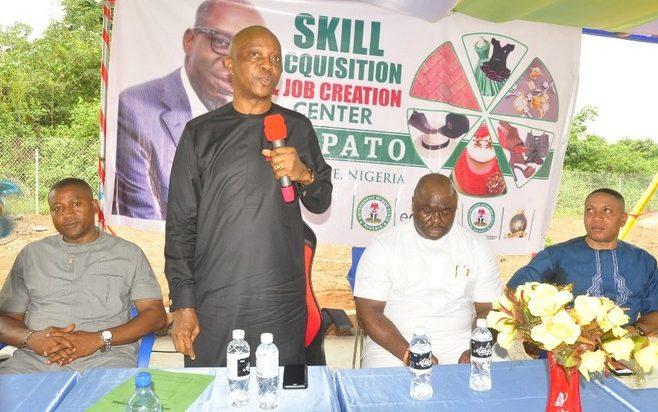 150 Youths Begin Training As Obaseki Unveils Skills Centre