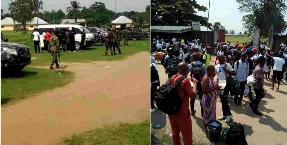 Army discovers militia training camp in Rivers community
