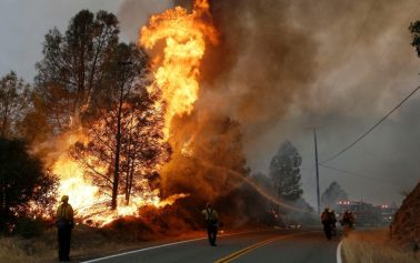 Foreign Titbits: California wildfires: At least 42 are killed in deadliest blaze