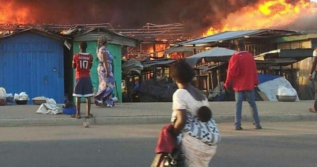 Fire guts 156 shops at Nkwo Ngwa market in Aba
