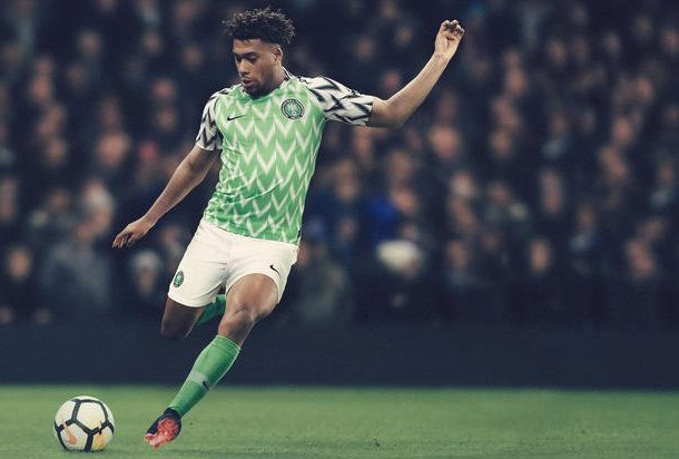 Alex Iwobi is Nigeria's Most Valuable Player