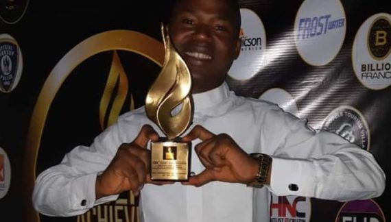 Ossai Wins Nigeria Achievers Award