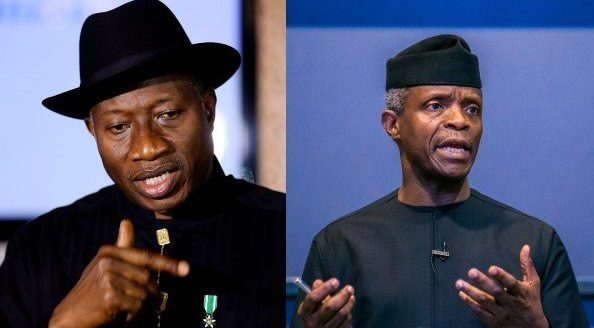 You Lack Moral Standing to Accuse Me of Corruption, Jonathan tells Osinbajo