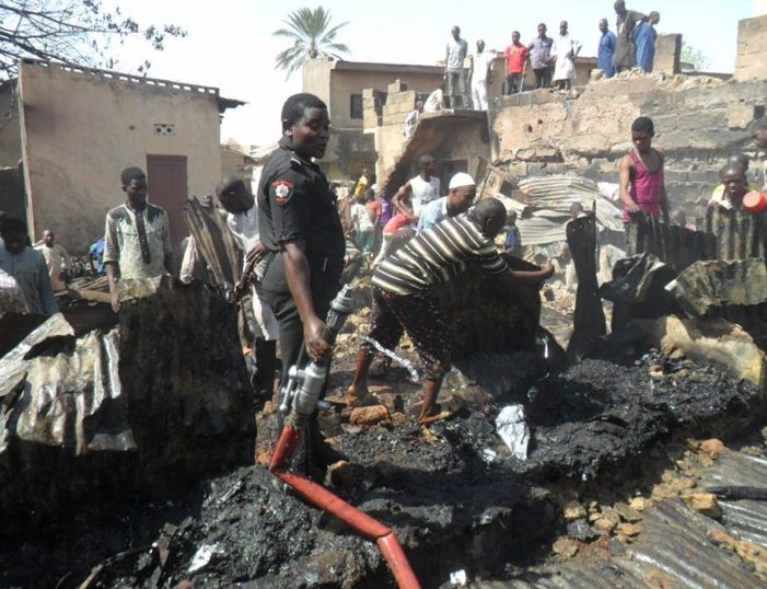 Early morning fire destroys 1 room, 7 shops in Kano