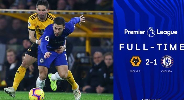 Jota fires winner as Wolves stun Chelsea, Liverpool beat Burnley