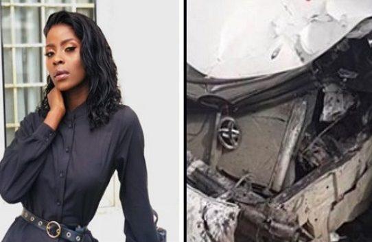 Ex-BBNaija Housemate, Khloe involved in a Motor Accident