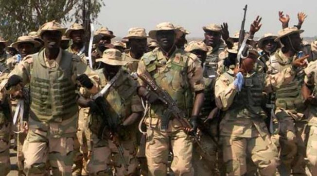 Image result for Terrorists, 4 Soldiers Killed In Boko Haram Attack On Yobe Community
