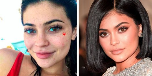 8 Shocking Photos of Celebs Without Makeup - Can You ...