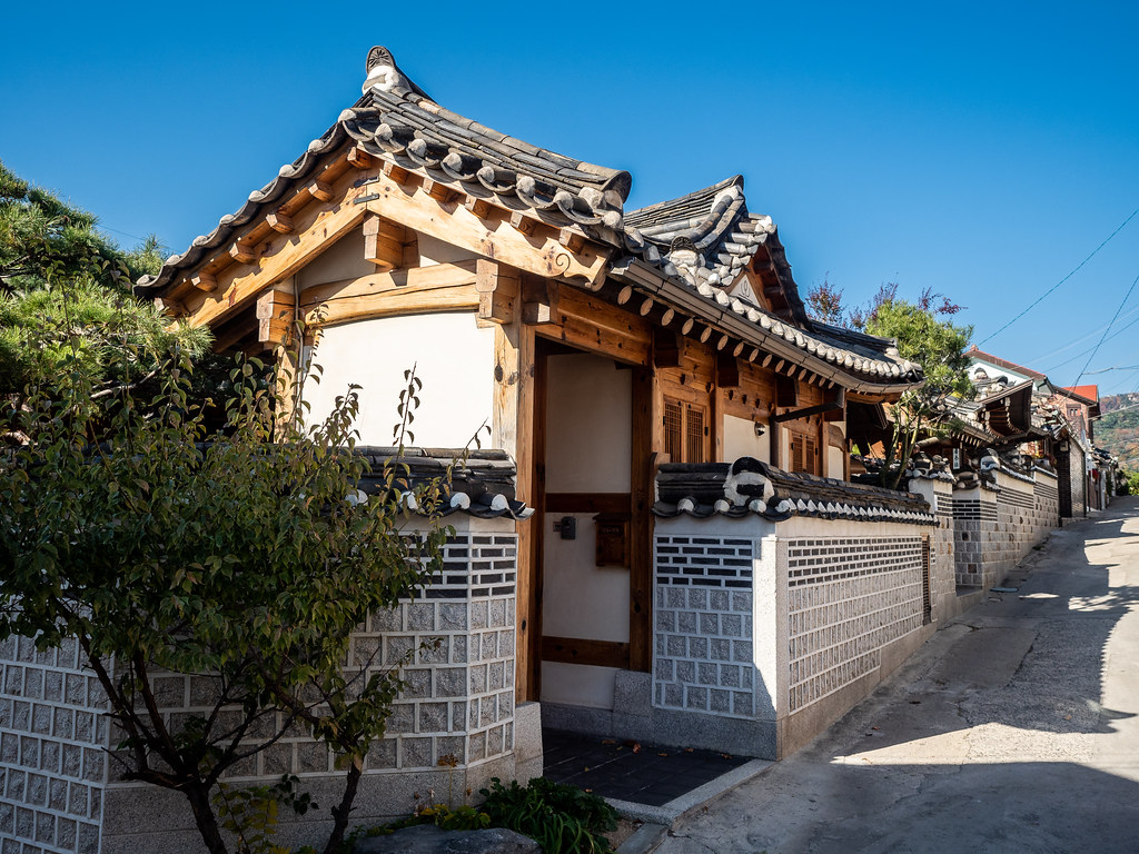 Bukchon Hanok Village photo
