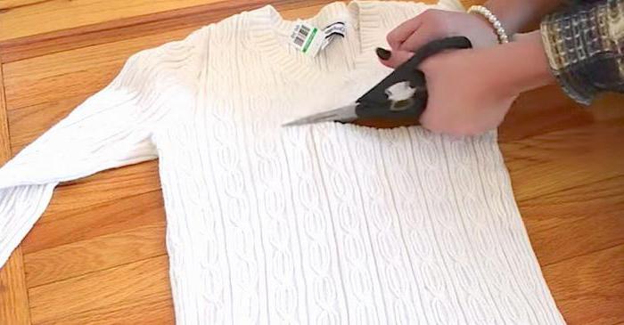 Come Fare Un Maglione Nuovo Da Vecchi Maglioni Alterazione